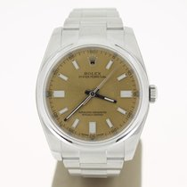 Rolex Oyster Perpertual 36mm WHITEGRAPE Dial (B&P2016) Steel