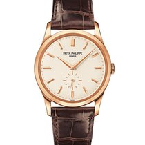 Patek Philippe Rose Gold Men Calatrava 38mm