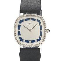 Movado 17 Jewel Manual Wind Mens Watch - Diamonds and 14K...