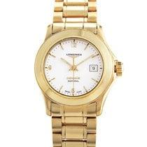 Longines Ladies 18K Yellow Gold Quartz Watch L31046266