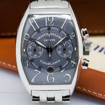 Franck Muller 8885 C CC DTA Casablanca Chronograph Grey Dial...