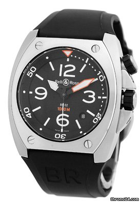 Bell &amp;amp; Ross BR 02-92 Marine Diver