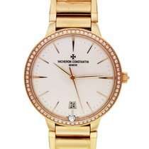 Vacheron Constantin 85515/CA1R-9840 Patrimony 36mm RG Diamond...