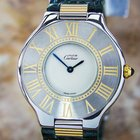 Cartier 21 Stainless Steel Ladies Dress Watch Swiss Made...