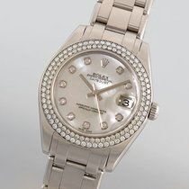 Rolex Oyster Perpetual Datejust Pearlmaster mit Diamanten