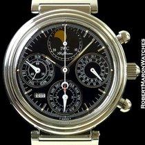 IWC Davinci 3750 Automatic Perpetual Calendar Chronograph Steel