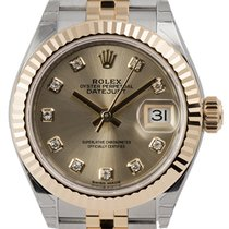 Rolex Lady-Datejust Steel and Yellow Gold Champagne/Diamonds...