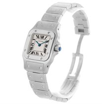Cartier Santos Galbee Ladies Steel Quartz Watch W20056d6