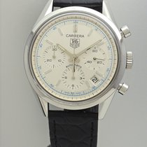 TAG Heuer Carrera Re-Edition Chronograph -Stahl/ Leder CV2110-0