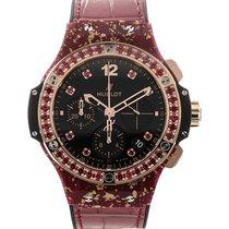 Hublot Big Bang 41 Chronograph Red Strap L.E.