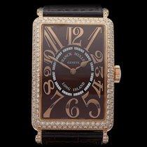 Franck Muller Long Island Relief Original Diamonds 18k Rose...
