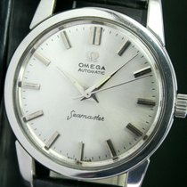 Omega Seamaster Automatic Steel Mens Wrist Watch Silver Dial
