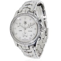 TAG Heuer Link CJF1314 Ladies Watch in Diamond & Stainless...