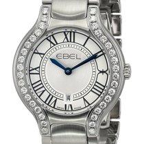 Ebel Beluga Stainless Steel & Diamond Womens Luxury Watch...