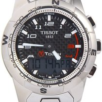 Tissot Men's T0474204420700 T-touch Ii Black Chronograph...