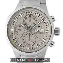 IWC GST Collection GST Split Second Chronograph Steel Rhodium...
