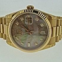 Rolex Day - Date President Rose Gold MOP Diamond Dial 118235