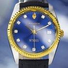 Sandoz Vintage Automatic Dress Watch w/Date, Display Back