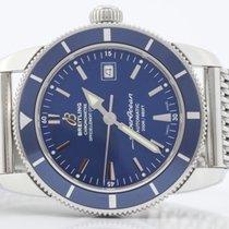 Breitling SuperOcean Heritage 42 blue blu  mm A1732116