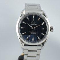 Omega Seamaster Aqua Terra Midsize 39 mm blue dial