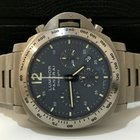 Panerai Luminor Chrono Daylight Titanium Blue Dial