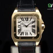 Cartier W20112y1 Santos 100 Gold