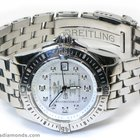 Breitling Cockpit Lady A71356 Factory White Mother of Pearl...