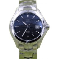 TAG Heuer Link WAT1111.BA0950 40mm Silver Index Stainless...