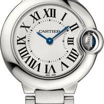 Cartier BALLON BLEU DE CARTIER WATCH  28 mm, Steel, Steel Band