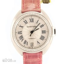 Cartier NEU -30% Clé de Cartier WJCL0014 Weißgold Diamanten 35 mm