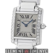 Cartier Tank Collection Tank Francaise Ladies 18k White Gold...