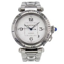 Cartier Pasha 38mm W31031h3 Stainless Steel Automatic Men'...