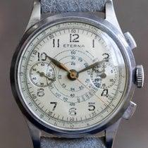 Eterna Vintage Two-tone Telemeter Chronograph Valjoux 22
