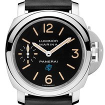 Panerai [NEW] PAM 631 Luminor Marina Logo Acciaio Boutique...