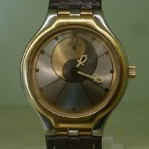 Omega vintage lady de Ville SYMBOL gold and steel ref 595.0101...