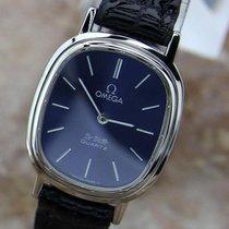 Omega De Ville Quartz Stainless Steel 80s Ladies Dress Watch...