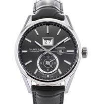 TAG Heuer Carrera GMT Automatic 41 Anthracite Dial Calibre 8