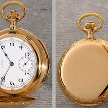 Longines fine dekorated minute repeater in 18k rose gold case