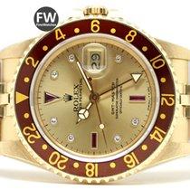 Rolex GMT Master Yellow Gold