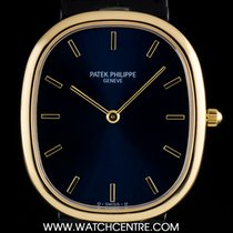 Patek Philippe 18k Y/G Blue Dial Ellipse Automatic Gents...