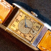 Omega – steel Staybrite Art Déco gents – 1930s – Cal. T17 Curvex