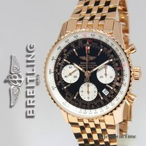 Breitling Navitimer Chronograph 18k Rose Gold Limited Edition...