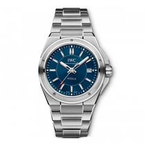 IWC Ingenieur Automatic Laureus Blue Dial IW323909 Mens WATCH
