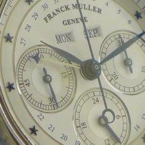 Franck Muller 18ct Weißgold Kalender Day Date Chronograph