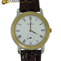 Eberhard & Co. Stainless Steel 18k Yellow Gold Manual...