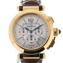 Cartier Pasha 42 Yellow Gold Chronograph