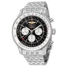 Breitling Navitimer GMT Black Dial Men's Watch AB044121/BD24
