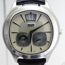 Piaget Emperador Coussin White Gold Dual Time GMT - G0A32016