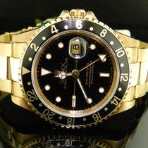 Rolex Gmt Master Ii Ref. 16718 Oro Giallo
