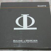 Baume & Mercier vintage booklet  for quartz models...
